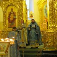 Протоиерей Андрей Копейкин поздравил верующих с праздником Введения во храм Пресвятой Владычицы нашей Богородицы и Приснодевы Марии