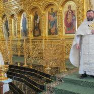 Благочинный Юго-Западного округа Саранска поздравил верующих с праздником Крещения Господня