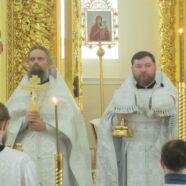 Благочинный Юго-Западного округа Саранска поздравил верующих с праздником Благовещения Пресвятой Богородицы