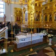 Три архиерея совершили чин отпевания протоиерея Андрея Копейкина