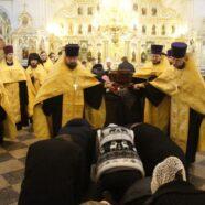 В Саранске состоялись торжественные проводы ковчега с мощами святого праведного воина Феодора Ушакова
