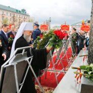 Протоиерей Андрей Копейкин поздравил жителей Юго-Западного благочиния Саранска с Днем Великой Победы